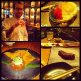 Dinner with Spence @ PABU